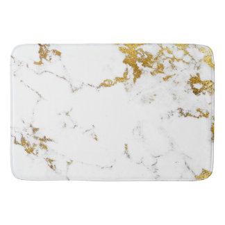 Tapete De Banheiro Lux urbano abstrato cinzento de mármore de Carrara