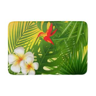 Tapete De Banheiro Luz do sol tropical com um colibri pequeno