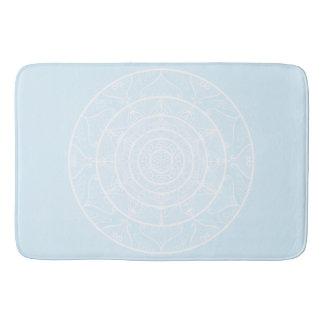 Tapete De Banheiro Mandala ártica