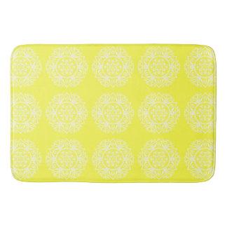 Tapete De Banheiro Mandala do limão