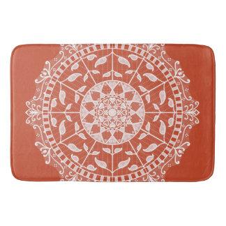 Tapete De Banheiro Mandala do Terracotta