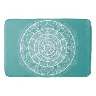 Tapete De Banheiro Mandala Spruce azul