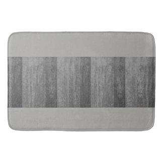 Tapete De Banheiro Máscaras de Ombre cinzento listradas