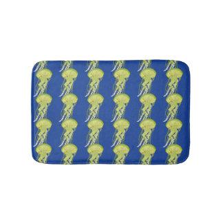 Tapete De Banheiro Medusas verdes