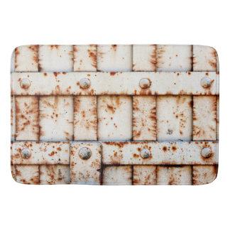 Tapete De Banheiro Metal oxidado - engraçado esfrie
