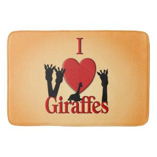Tapete De Banheiro Mim girafas do coração