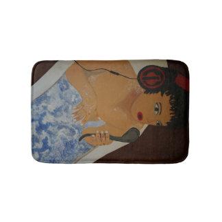 Tapete De Banheiro Music em the tub