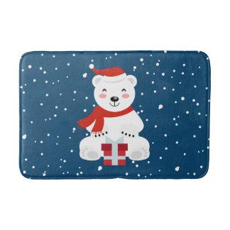 Tapete De Banheiro Natal Snowbear