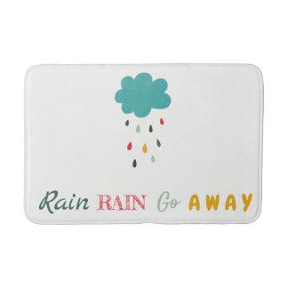 """Tapete De Banheiro Nuvem de chuva colorida bonito da """"chuva chuva"""""""