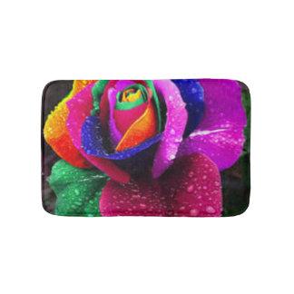 Tapete De Banheiro O arco-íris colorido bonito aumentou