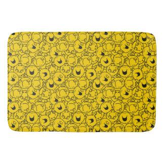 Tapete De Banheiro O grupo do Sr. Feliz | de amarelo sorri teste