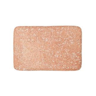 Tapete De Banheiro O ouro cor-de-rosa cora brilho de cobre de cristal