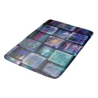 Tapete De Banheiro o vidro 3d apedreja a esteira de banho