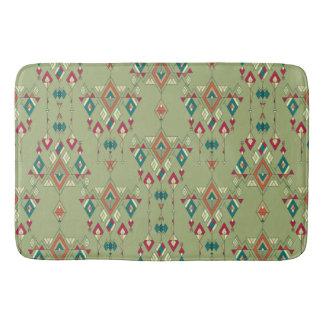 Tapete De Banheiro Ornamento asteca tribal étnico do vintage