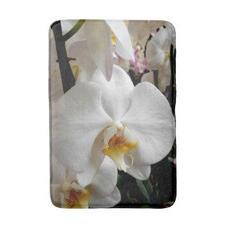 Tapete De Banheiro Orquídea branca