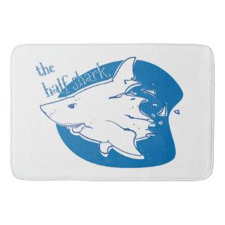 Tapete De Banheiro os desenhos animados engraçados do meio tubarão
