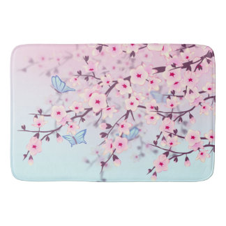 Tapete De Banheiro Paisagem das flores de cerejeira