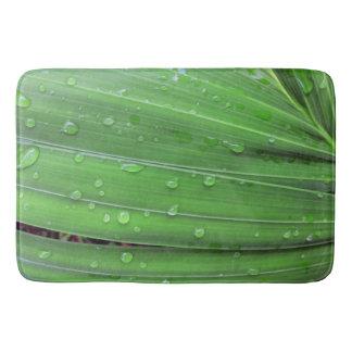 Tapete De Banheiro Palma e pingos de chuva do Natal