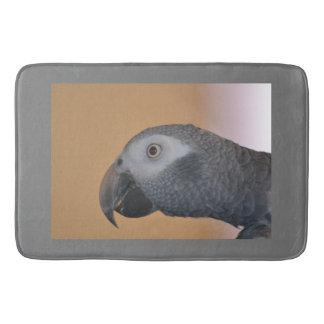 Tapete De Banheiro Papagaio do cinza africano