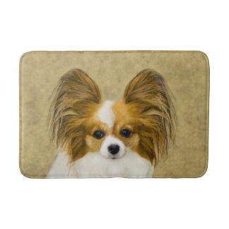 Tapete De Banheiro Papillon (tri cor do cão)