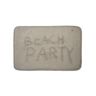 Tapete De Banheiro Partido da praia