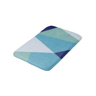 Tapete De Banheiro Pastel geométrico elegante dos azuis marinhos e do