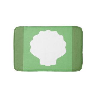 Tapete De Banheiro Pérola verde