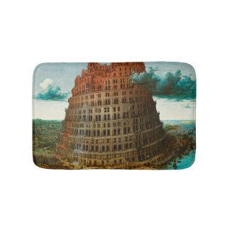 Tapete De Banheiro PIETER BRUEGEL - A torre de Babel pequena 1563