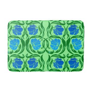 Tapete De Banheiro Pimpernel, azul & verde limão de William Morris