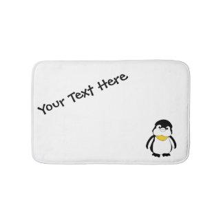 Tapete De Banheiro Pinguim pequeno bonito