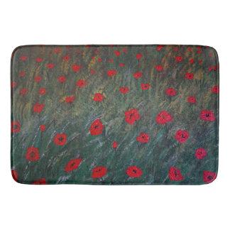 Tapete De Banheiro Poppy meadow