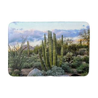 Tapete De Banheiro Por do sol do Succulent de Scottsdale