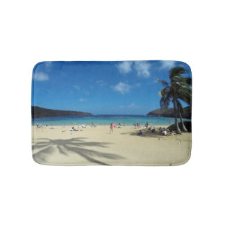 Tapete De Banheiro Praia Havaí da baía de Hanauma