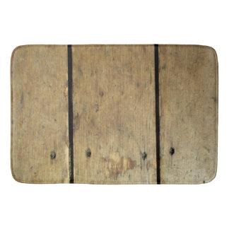 Tapete De Banheiro Pranchas de madeira