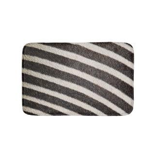 Tapete De Banheiro Preto & branco animais do impressão da zebra