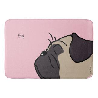 Tapete De Banheiro Pug Head