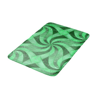 Tapete De Banheiro Redemoinhos do verde