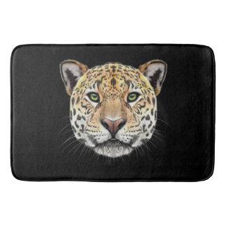 Tapete De Banheiro Retrato ilustrado do Jaguar.