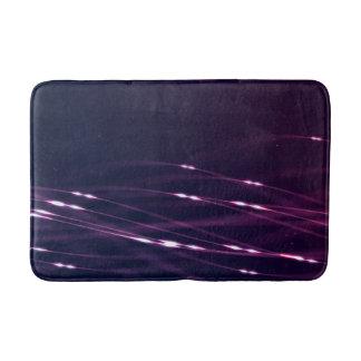 Tapete De Banheiro Roxo escuro abstrato