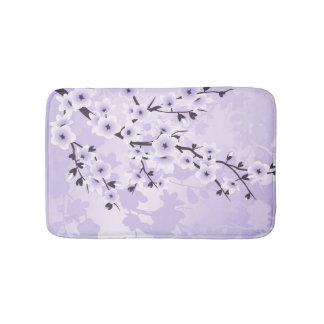 Tapete De Banheiro Roxo floral de Sakura das flores de cerejeira