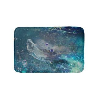 Tapete De Banheiro Sereia subaquática da mística do índigo