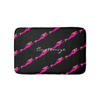 Tapete De Banheiro sereias cor-de-rosa nadadoras Thunder_Cove alguma