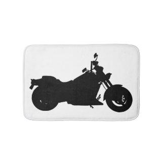 Tapete De Banheiro Silhueta da motocicleta