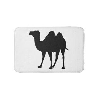 Tapete De Banheiro Silhueta do camelo