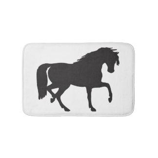 Tapete De Banheiro Silhueta do cavalo