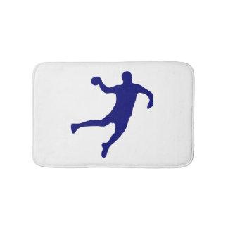 Tapete De Banheiro Silhueta do handball