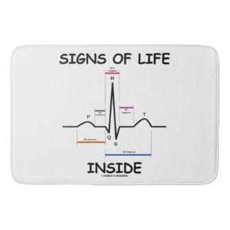 Tapete De Banheiro Sinais de vida dentro do humor médico da pulsação