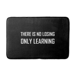 Tapete De Banheiro Somente divisa de aprendizagem não perdedora