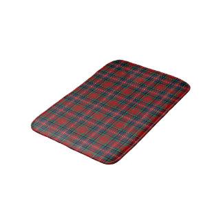 Tapete De Banheiro Tartan escocês vermelho e azul de MacPherson