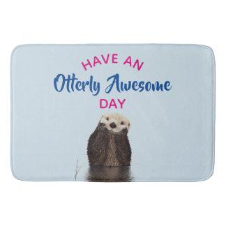Tapete De Banheiro Tenha uma foto bonito da lontra do dia